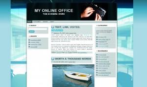 Wordpress Theme:  My Online Office - 3 Column Version