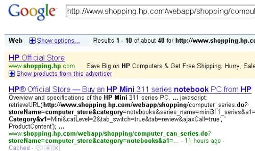 How to SEO google results