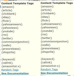 WP Robot Template Tags