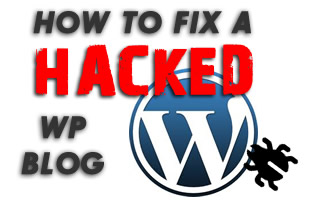 how to fix hacked-wp-blog