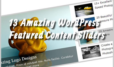 13 Amazing Featured Content Slider WordPress Plugins