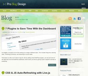 Pro Blog Design