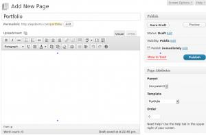 create-portfolio-homepage