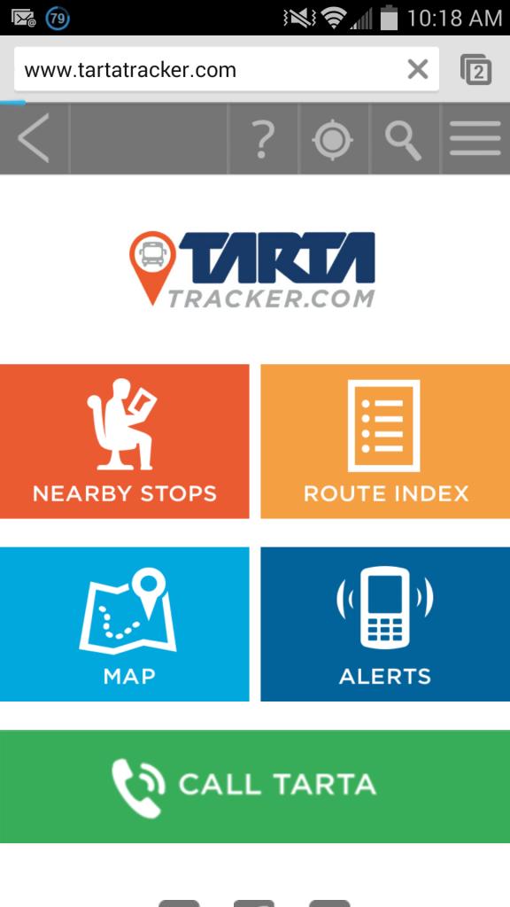 Tarta Tracker
