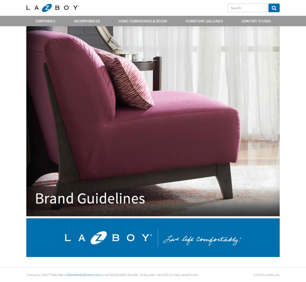 La-Z-Boy Brand Guidelines